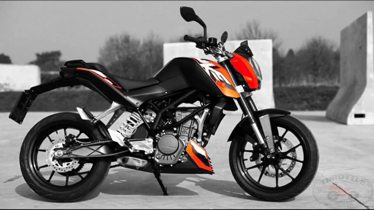 ktm duke 125 first impressions throttlequest. Black Bedroom Furniture Sets. Home Design Ideas
