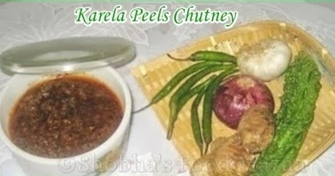 Shobha 39 s food mazaa karela peels chutney - What to do with citrus peels seven practical tips ...