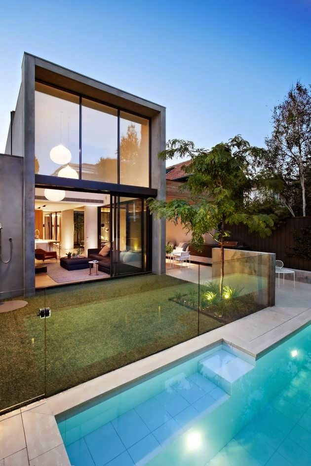 SOUTH YARRA CONTEMPORARY URBAN HOUSE DESIGN WITH SHAPE AS A SIMPLE on craftsman box house, cottage box house, classic box house, metal box house, wooden box house, american box house, luxury box house, futuristic box house, 2 story box house, simple box house, fun box house, cool box house, tiny house box house, asian box house, salsa box house, christmas box house,