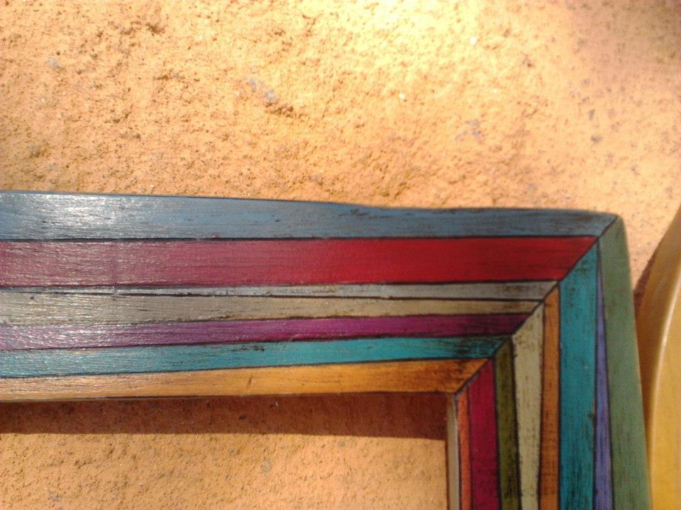 troppoparticolare: marcos de colores !