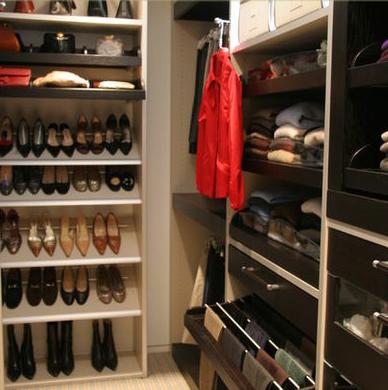 Closet y armarios fotos de dise o y decoraci n de closets for Armario para zapatos
