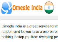 omegle india chat
