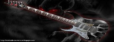 couverture facebook HD guitare électrique