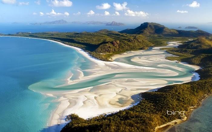 Whitehaven Beach, Whitsunday Island, Queensland, Australia - 10 Reasons Why You Should Visit Australia!