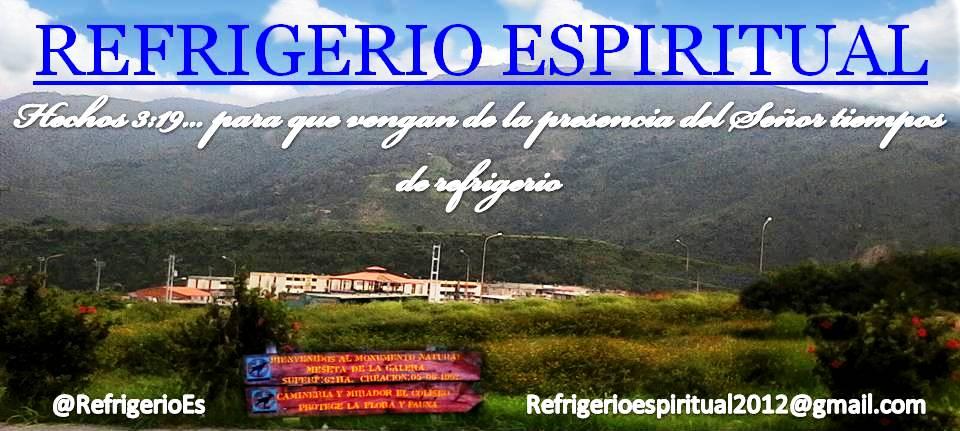 REFRIGERIO ESPIRITUAL