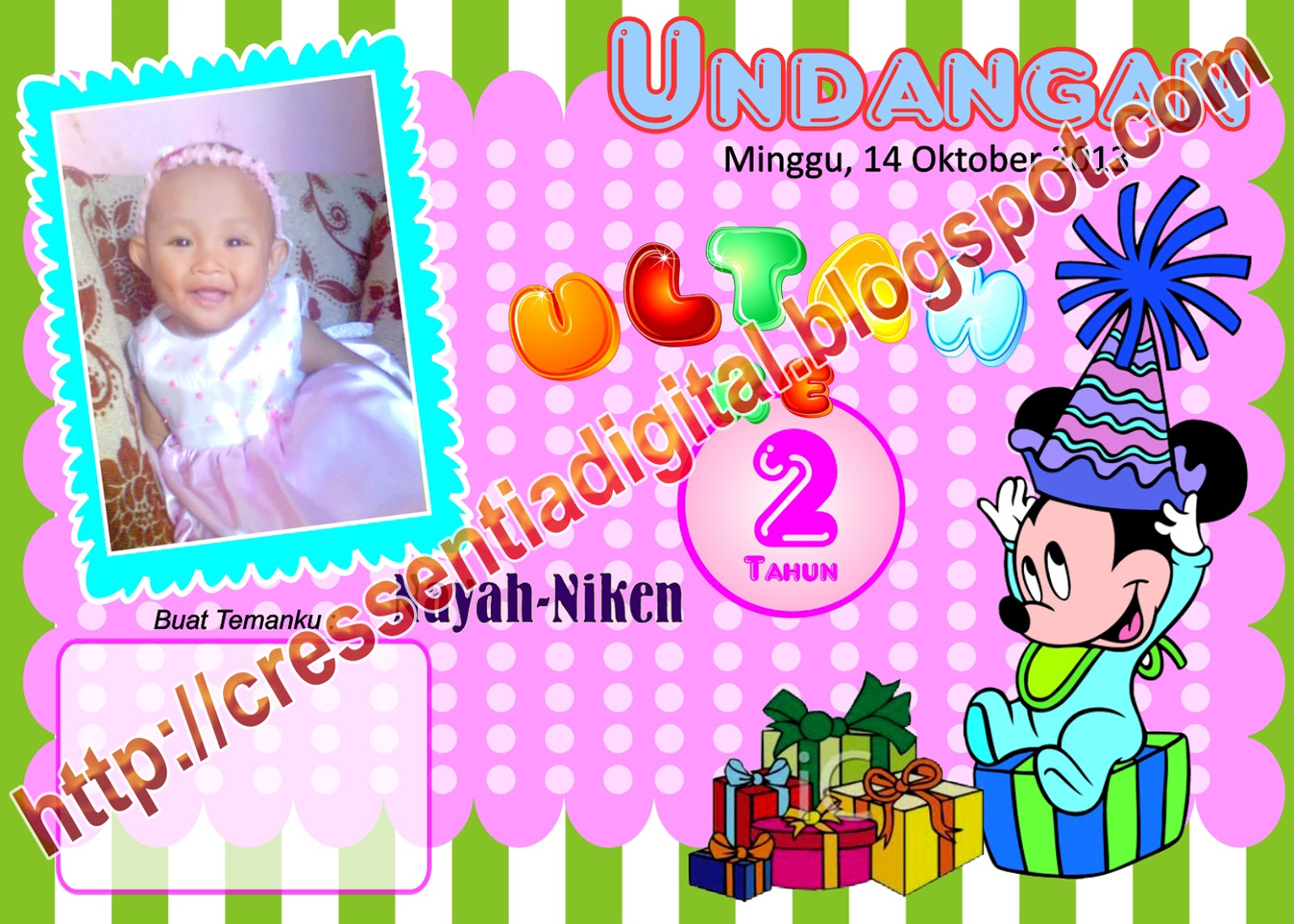 Copyright 2012 Template Undangan Ulang Tahun Anak . Power by Video ...