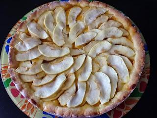 crostata di marmellata con le mele