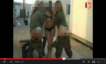 Video Aksi Binal Empat Tentara Wanita Israel di Facebook