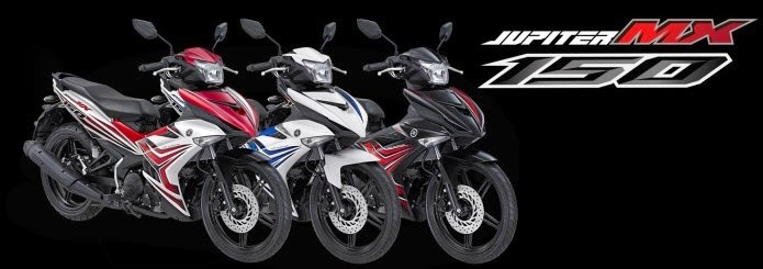 Varian warna Jupiter MX 150