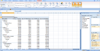 Data Tabel PivoTabel Excel