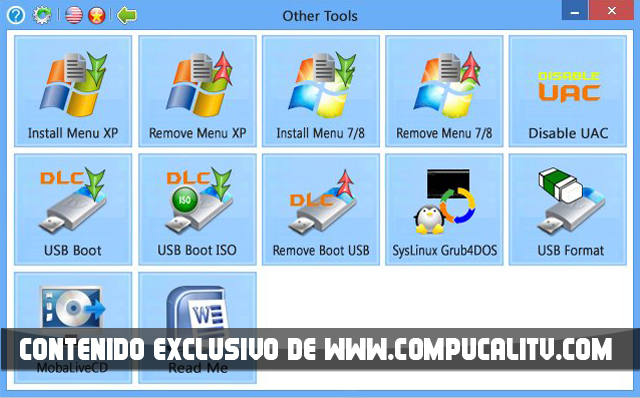 DLC Utilities Boot CD 2.0 2015 Technician Edition