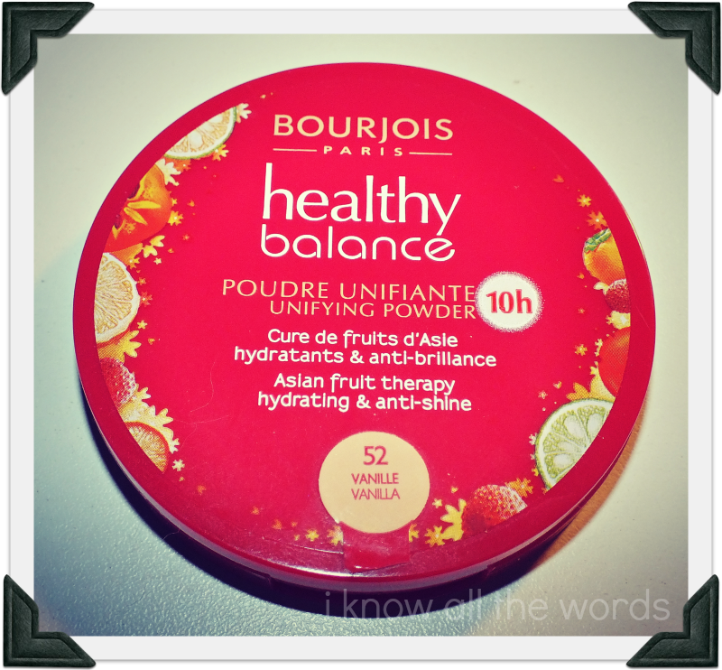 Bourjois Healthy Balance Unifying Powder I Know All The