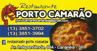 Porto Camarão Restaurante e Pizzaria Carnes, Pizzas e Frutos do Mar