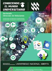 Publicación Digital Conociendo el Mundo Universitario Marzo  2017