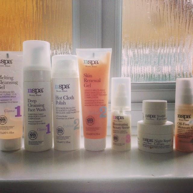NSpa Skincare Range