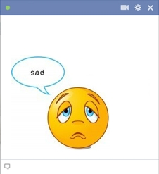Facebook Sad Smiley
