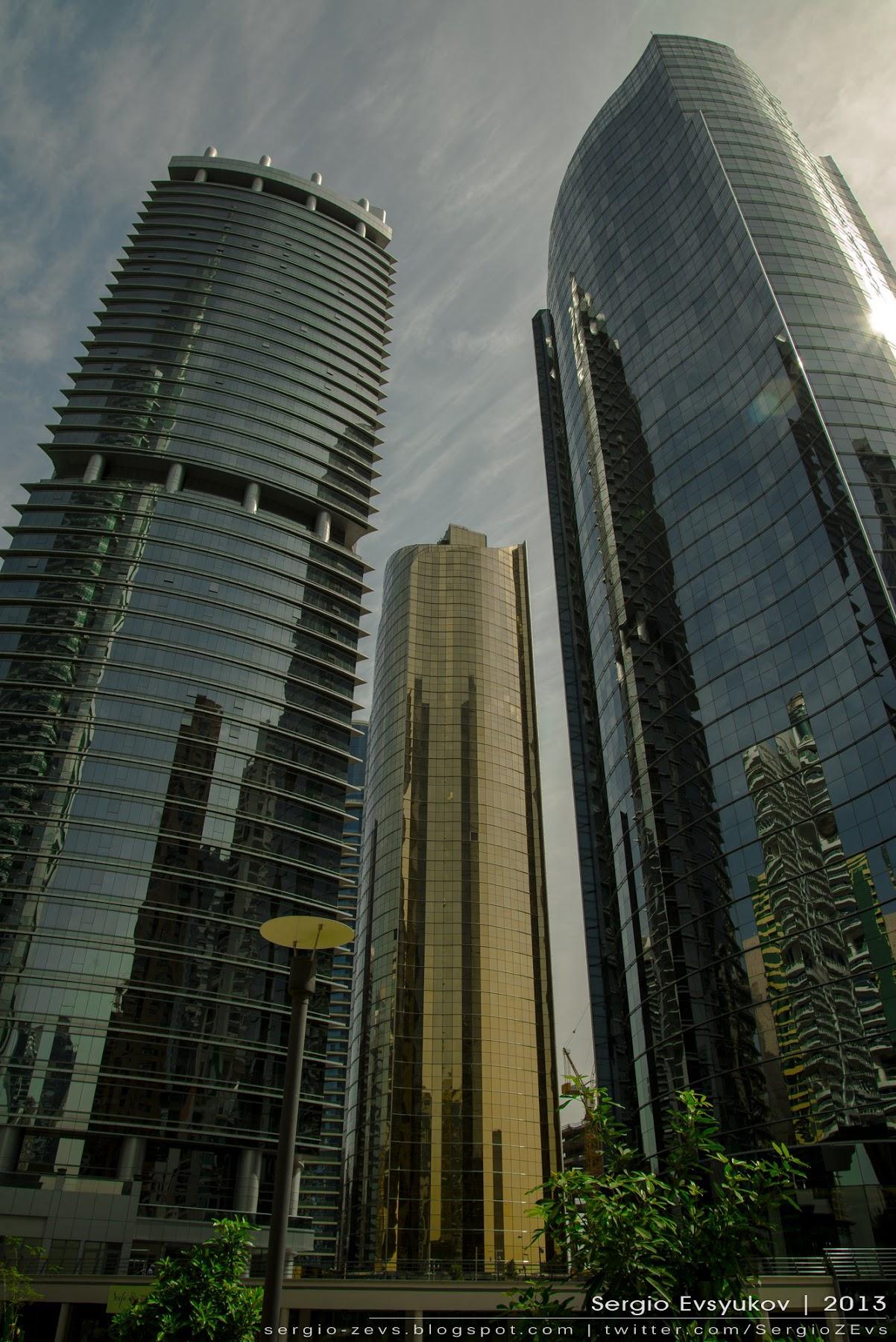 Высотки, Дубай, Dubai, Улица, виды, красиво
