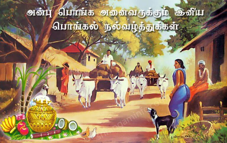 Image result for pongal wishes in tamil