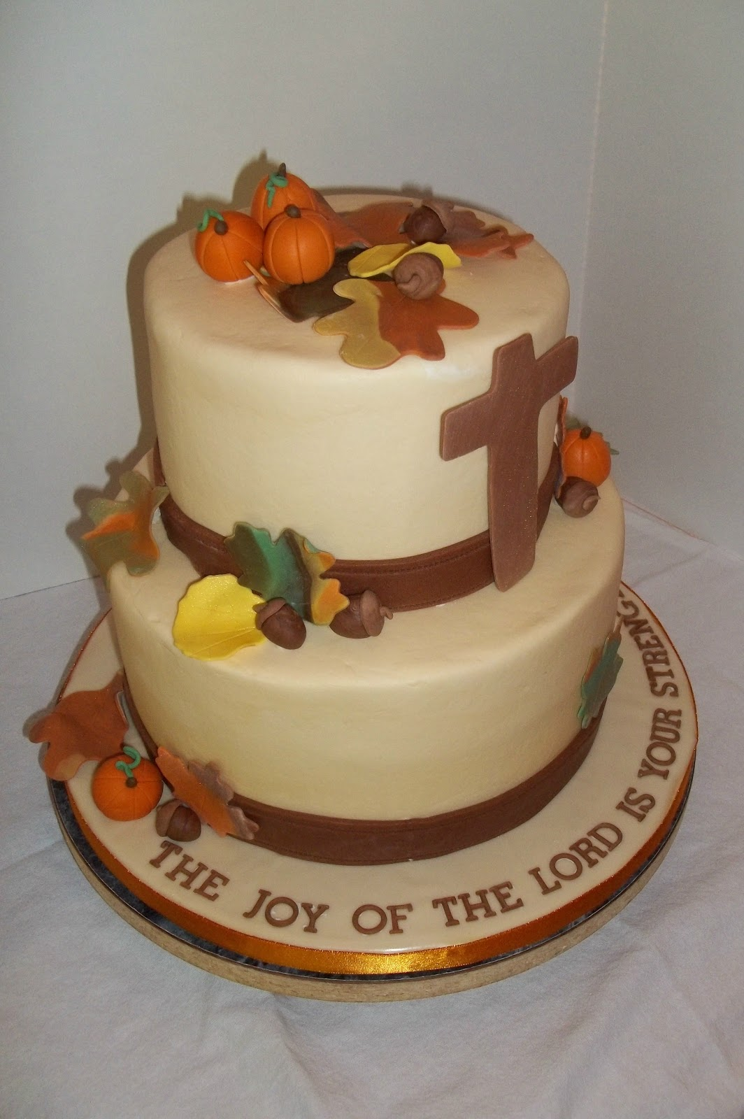 Bobbie s cakes and cookies a fall themed birthday cake