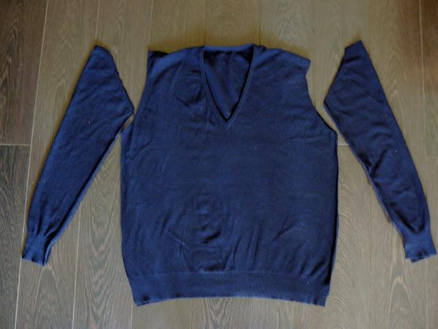 Платье из мужского свитера своими руками