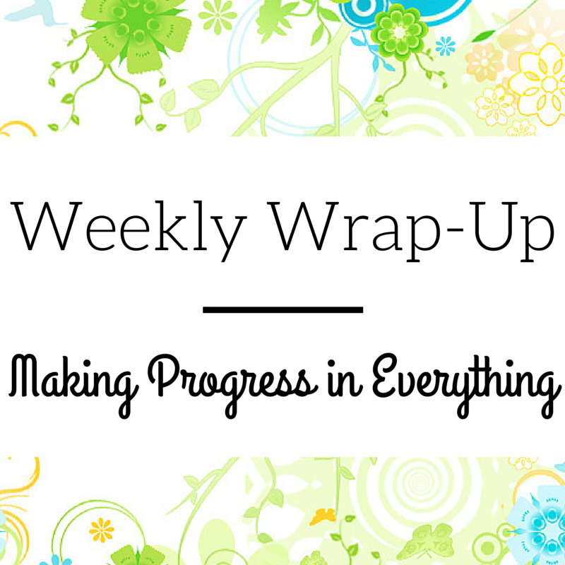 One mom shares the progresses being made in her personal life and homeschool.