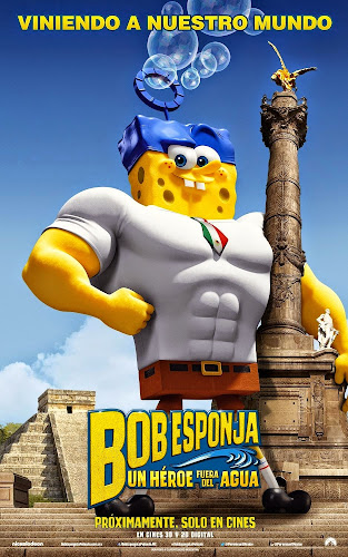 The Spongebob Movie: Sponge out of water (BRRip 1080p Dual Latino / Inglés) (2015)