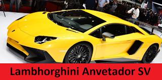 Mobil lamborghini Aventador SV