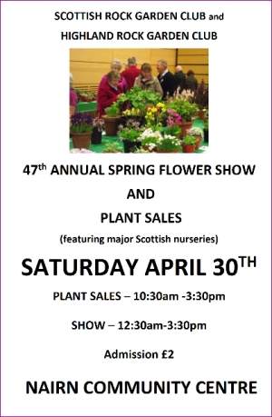 Scottish Rock Garden Club annual spring show