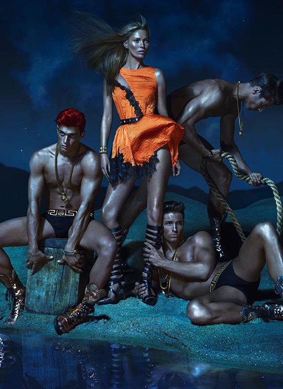 Versace spring 2013 ad campaign