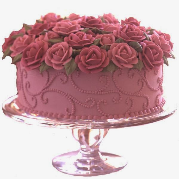 Cake Decorations Pink Roses : Cake Hd Wallpapers