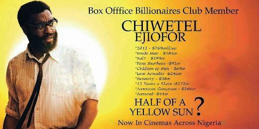 Half Of A Yellow Sun Sets New Cinema Record…