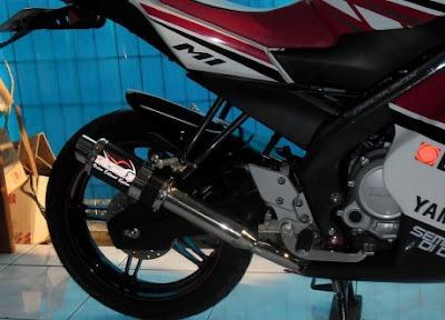 Modif Yamaha new Vixion Fairing Lebih Sporty