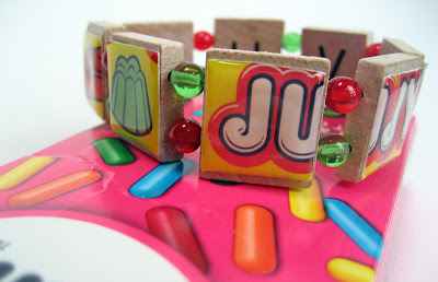 Bracelet from Jujyfruit candy box