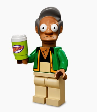 Lego minifigures special series the simpsons apu