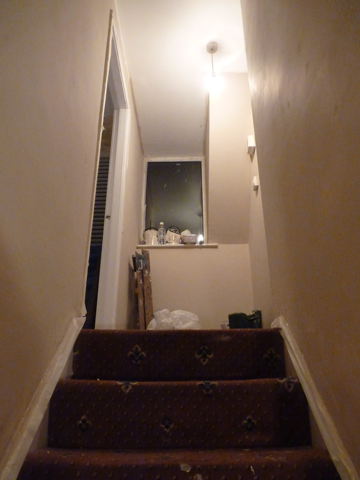 hallway finally. We Then Ripped Up The Patch Of Carpet In Hallway (which Our Lovely Cats Had Also Been Using As A Urinal) And Replaced It With Very Cheap Pack Finally