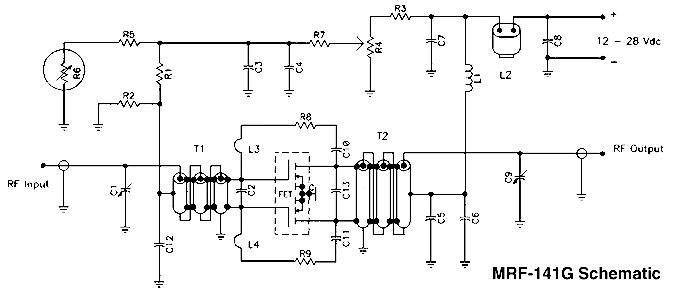 schematic wiring diagram w mosfet broadband amplifier 300w mosfet broadband amplifier