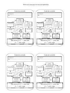 ecrire avec ludo codes de conduite. Black Bedroom Furniture Sets. Home Design Ideas