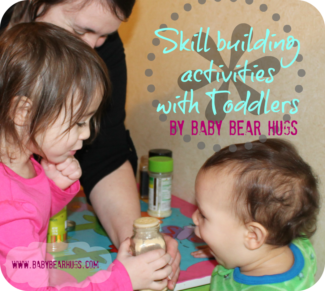 skill building activities with toddlers-sense of smell