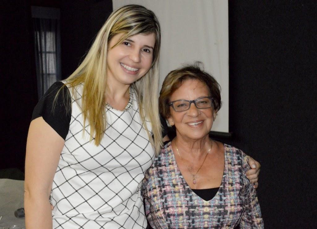 Primeira-dama Alessandra Rosa e advogada Joselice Cerqueira: secretária dos Direitos da Mulher atual e primeira titular da pasta unidas pela igualdade de direitos