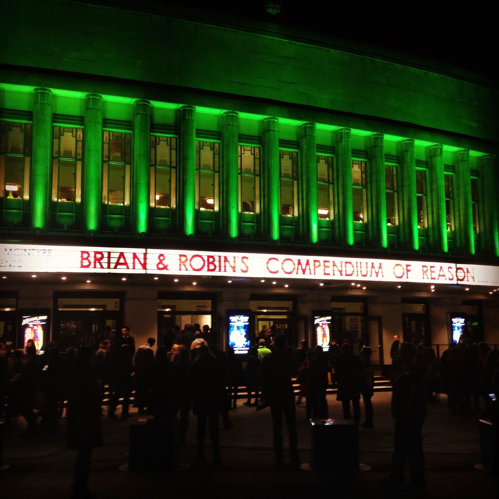 Brian & Robin's Christmas Compendium 2014 Hammersmith Apollo