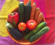 . entrada recomendando cuales son las frutas y verduras de consumo óptimo. imag