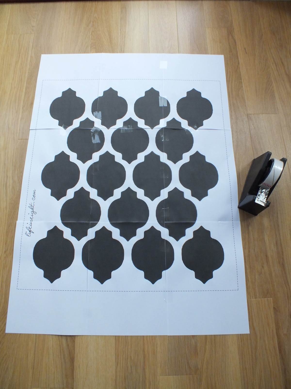 Wall stamps stencils choice image home wall decoration ideas wall stamps stencils images home wall decoration ideas diy wall stencil tutorial template life in eight amipublicfo Image collections