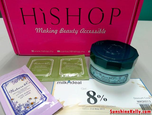 HiShop Beauty Ambassador Welcome Pack April Edition