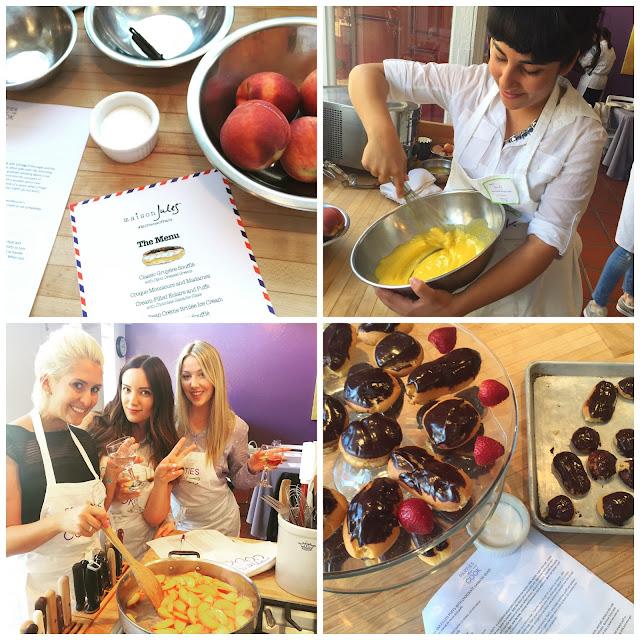 Maison Jules Blogger Baking Class #piecesofparis