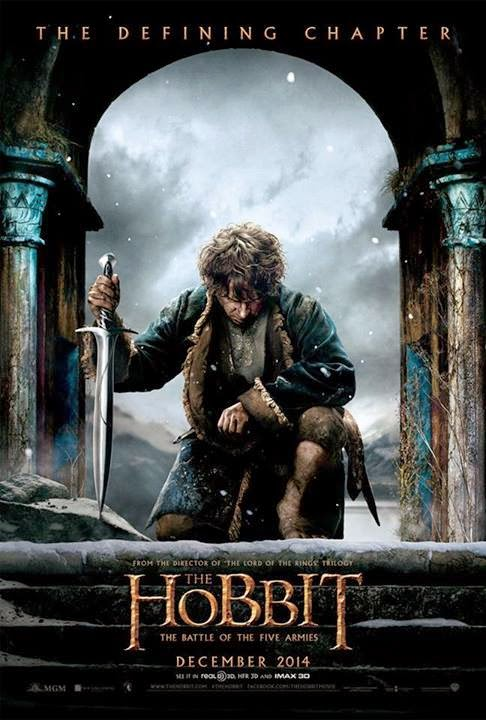 The Hobbit The Battle of the Five Armies 2014 HDRip 480p 400mb ESub