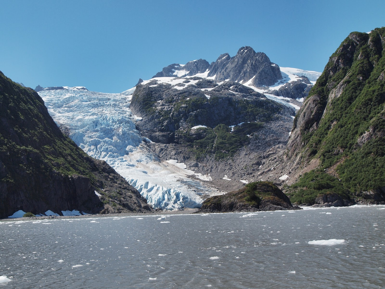 Glacier Arm,  #Alaska #resurrectionbay #glacier 2013