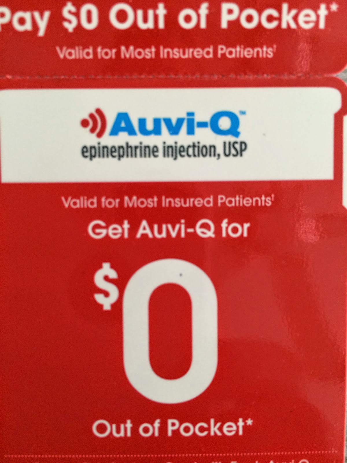 Epipen discount coupon