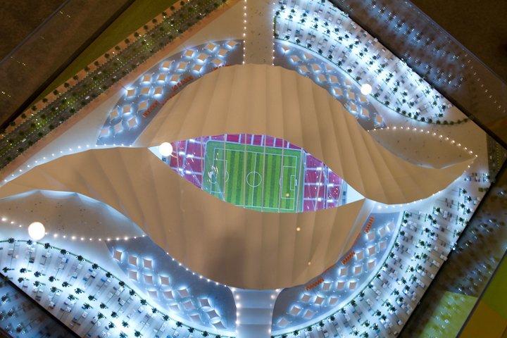 Al Khor Qatar  city photo : MASM: Al Khor Stadium ملعب الخور Al Khor, Qatar 
