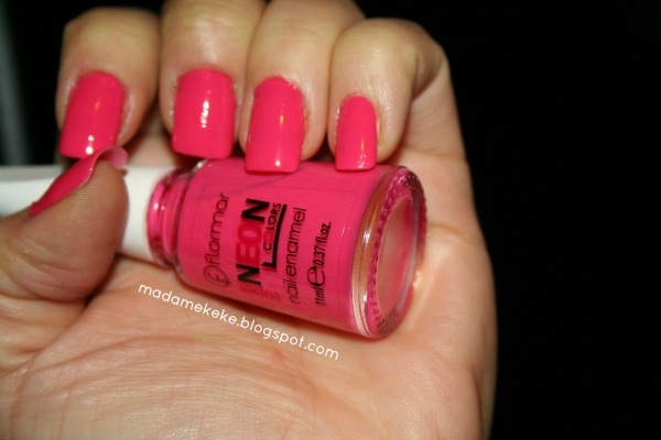 Flormar Super Neon Colors - Pink Nr. N003 - Reviews, Photos, Swatches