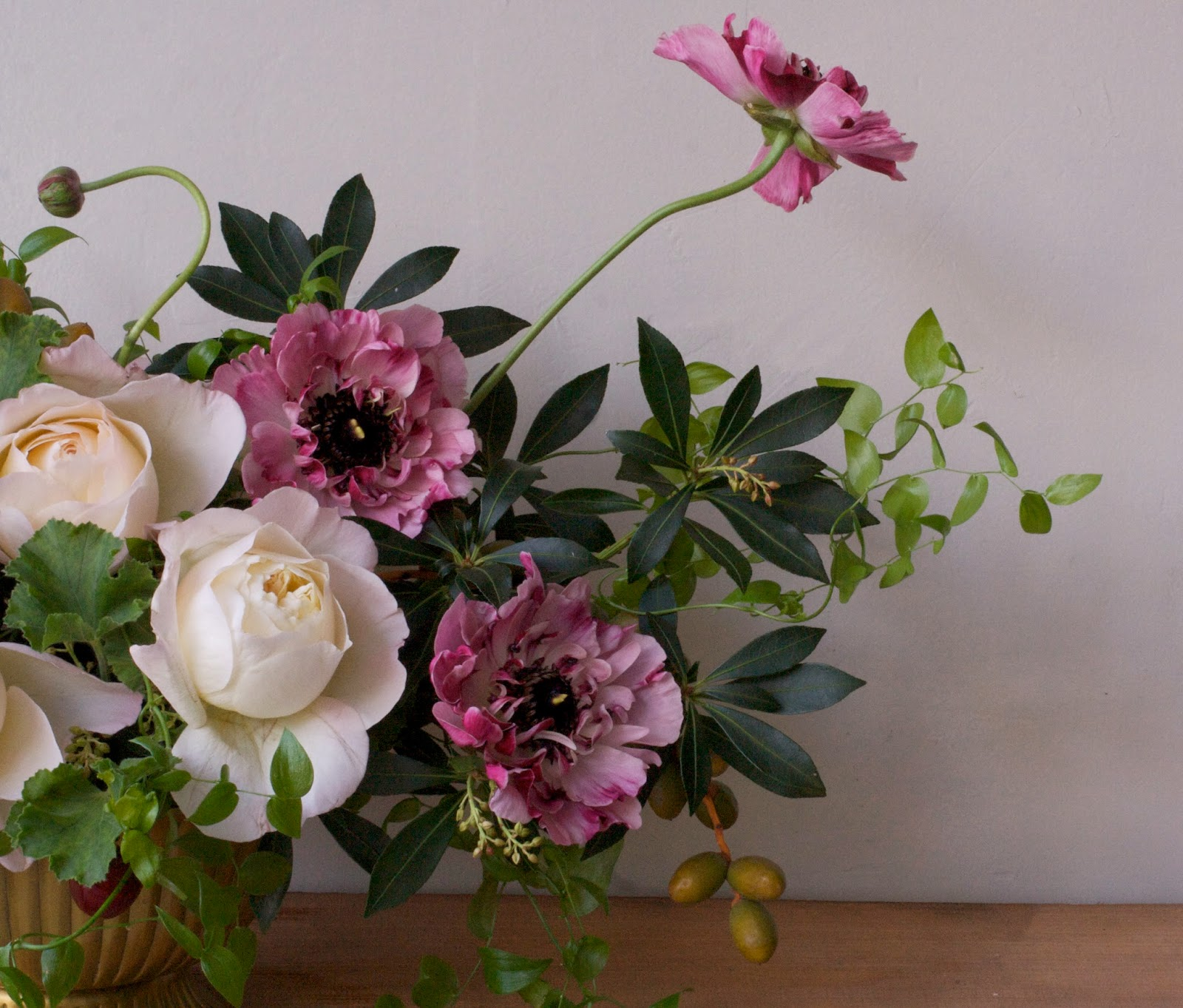 ARIEL DEARIE FLOWERS Reign of the Japanese Ranunculus
